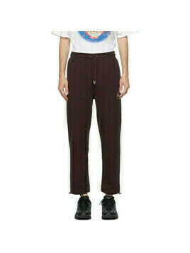 Opening Ceremony Burgundy Box Logo Lounge Pants
