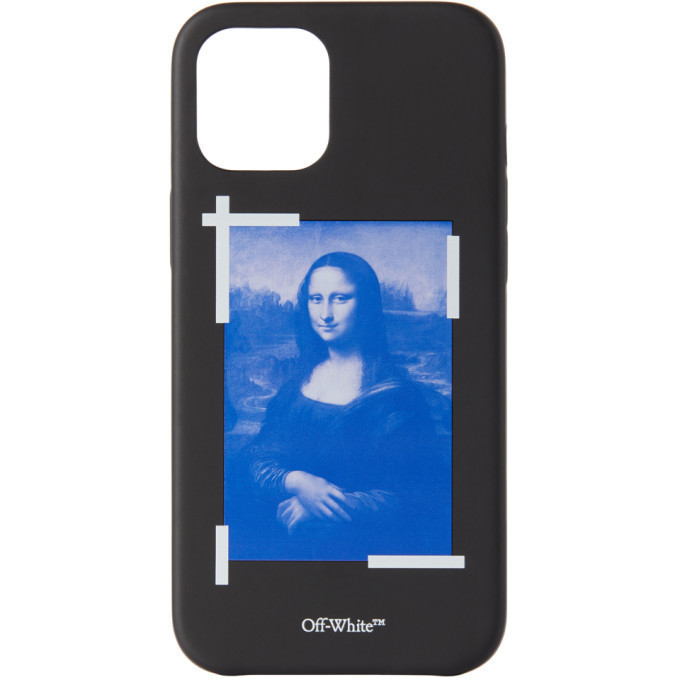 Off-White Black Mona Lisa iPhone 12 Pro Max Case