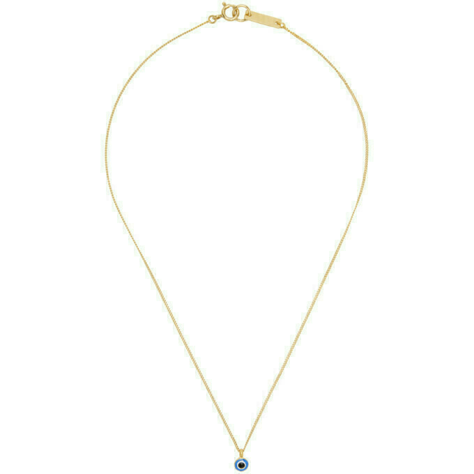 Isabel Marant Gold Lucky Necklace