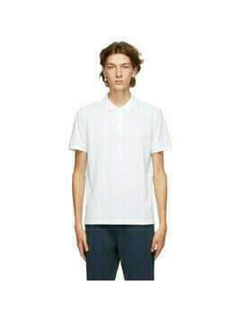 Boss White Piro Regular Fit Polo