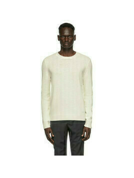 A.P.C. Off-White Wool Kit Sweater