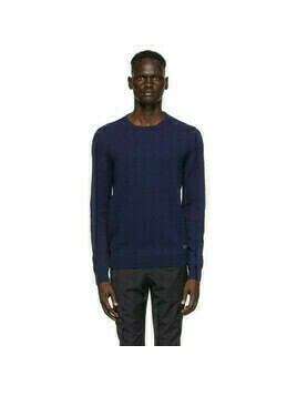 A.P.C. Blue Wool Kit Sweater