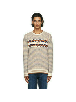 A.P.C. Off-White Ben Sweater