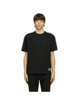 Versace Jeans Couture Black Pipe T-Shirt
