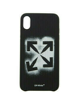 Off-White Black Stencil iPhone X Case