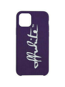 Off-White Purple Logo iPhone 11 Pro Case