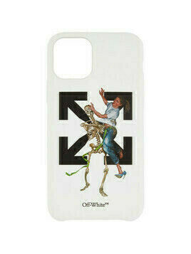 Off-White White Pascal Skeleton iPhone 11 Pro Case