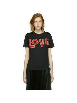 Moncler Genius 2 Moncler 1952 Black Love T-Shirt