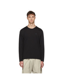 Acne Studios Black Long Sleeve Nash Patch T-Shirt