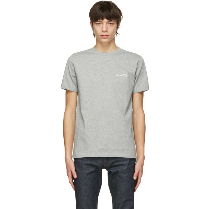 A.P.C. Grey Item T-Shirt