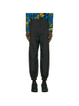 Opening Ceremony Black Nylon Fireman Track Pants