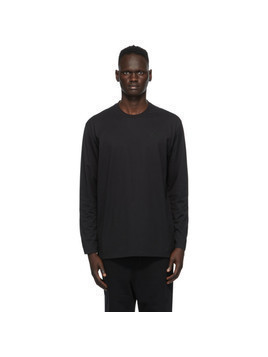 Y-3 Black Logo Long Sleeve T-Shirt