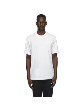 Y-3 White Logo T-Shirt