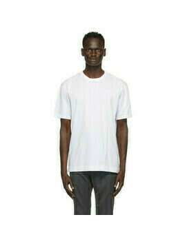 Z Zegna White Cotton Jersey Oversized T-Shirt