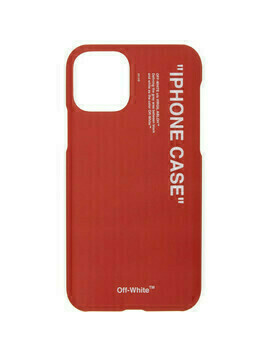Off-White Red Quote iPhone 11 Pro Case