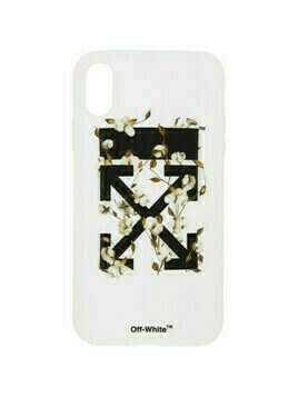 Off-White White Cotton Arrows iPhone XR Case