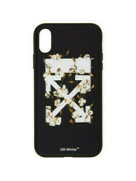 Off-White Black Cotton Arrows iPhone XR Case