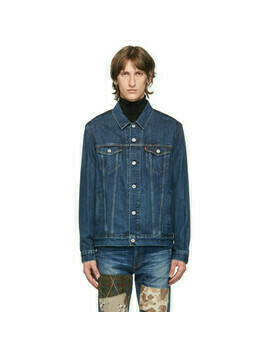 Junya Watanabe Indigo Levis Edition Denim and Wool Jacket