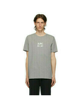 A.P.C. Grey Georges T-Shirt