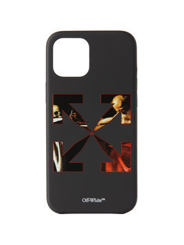 Off-White Black Caravaggio iPhone 12 Pro Max Case