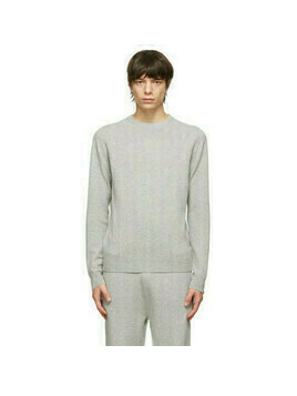 extreme cashmere Grey N°128 Be Sweater
