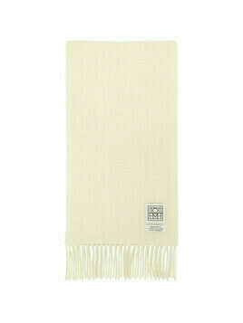 Toteme Off-White Wool Bova Scarf