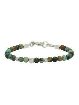 Isabel Marant Green and Silver Snowstone Bracelet