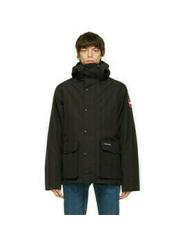 Canada Goose Black Lockeport Coat