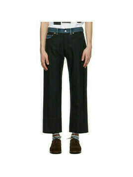 Junya Watanabe Black Levis Edition Hopsack Trousers