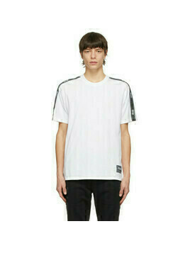 Versace Jeans Couture White Pipe T-Shirt
