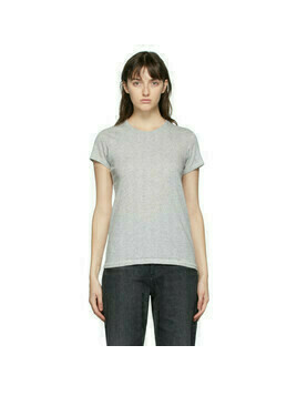 rag and bone Grey The Slub T-Shirt