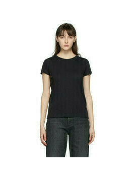 rag and bone Black The Slub T-Shirt