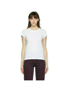 rag and bone White The Slub T-Shirt