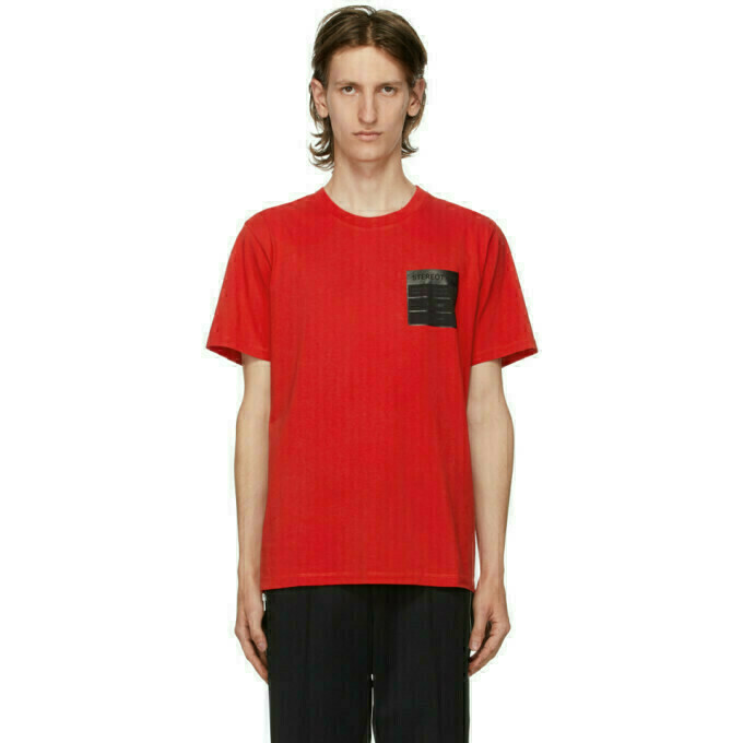 Maison Margiela Red Stereotype T-Shirt