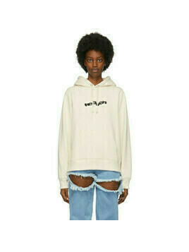 Marc Jacobs Off-White Heaven by Marc Jacobs Blocks Logo Hoodie