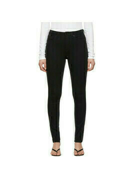rag and bone Black Nina Skinny Jeans