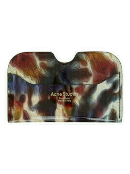 Acne Studios Multicolor Tie-Dye Print Card Holder