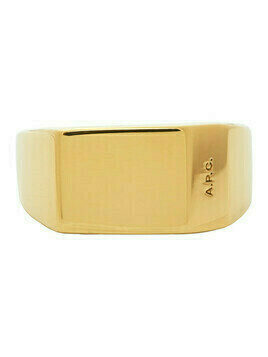 A.P.C. Gold Nolan Ring