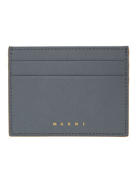 Marni Grey Credit Card Holder