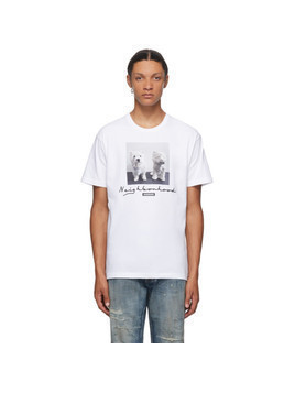 Neighborhood White Uni T-Shirt