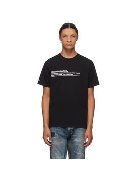 Neighborhood Black Logic T-Shirt