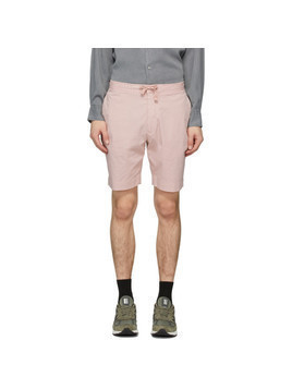 Officine Generale Pink Phil Shorts