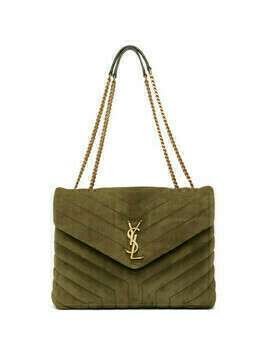 Saint Laurent Green Medium Loulou Bag