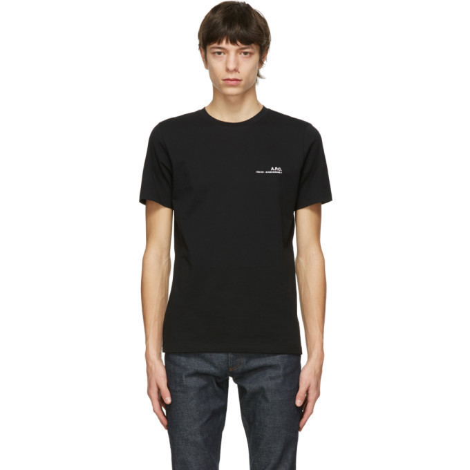 A.P.C. Black Item T-Shirt