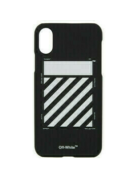 Off-White Black and White Diagonal iPhone X Case