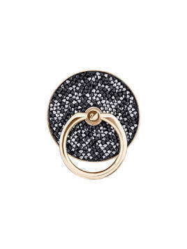 Glam Rock Ring Sticker, Black, Mixed plating