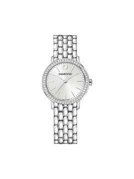 Graceful Mini Watch, Metal bracelet, Silver tone