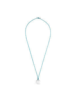 Waterschool Collection Necklace, Large, Light Blue, Rhodium plating
