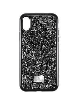 Glam Rock Smartphone Case with Bumper, iPhone® XR, Black