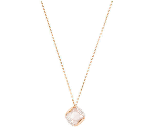 Heap Pendant, Beige, Rose gold plating